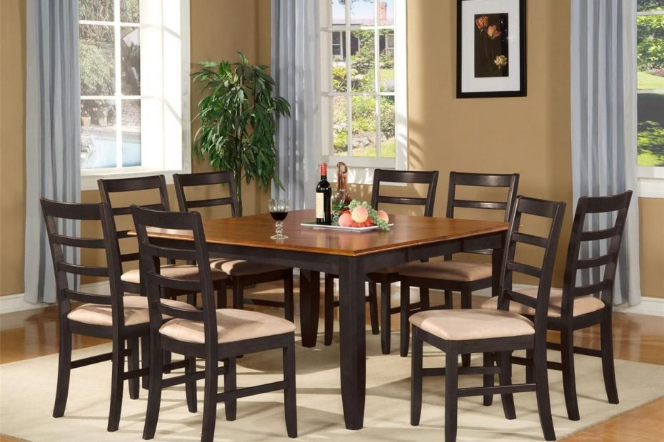 Dining Room Sets With 8 Chairs Layjao