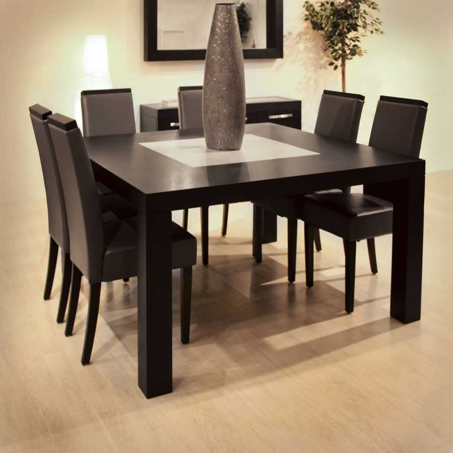 95 Room Essentials Black Dining Chair 8 Seater Dining Table Set