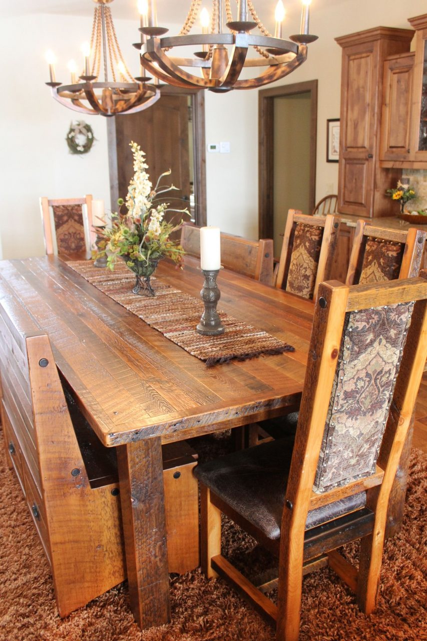 A Clients Home Design Roughing It In Style Reclaimed Barnwood