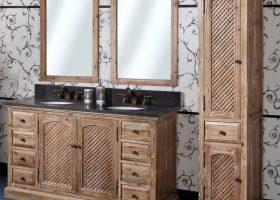 Bathroom Vanities Solid Wood Construction