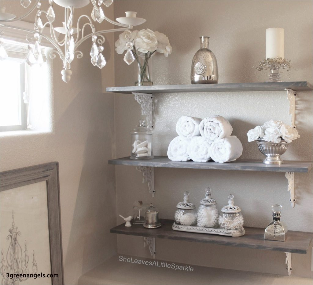 Adorable Bathroom Shelf Decorating Ideas Shelves 3greenangels Com