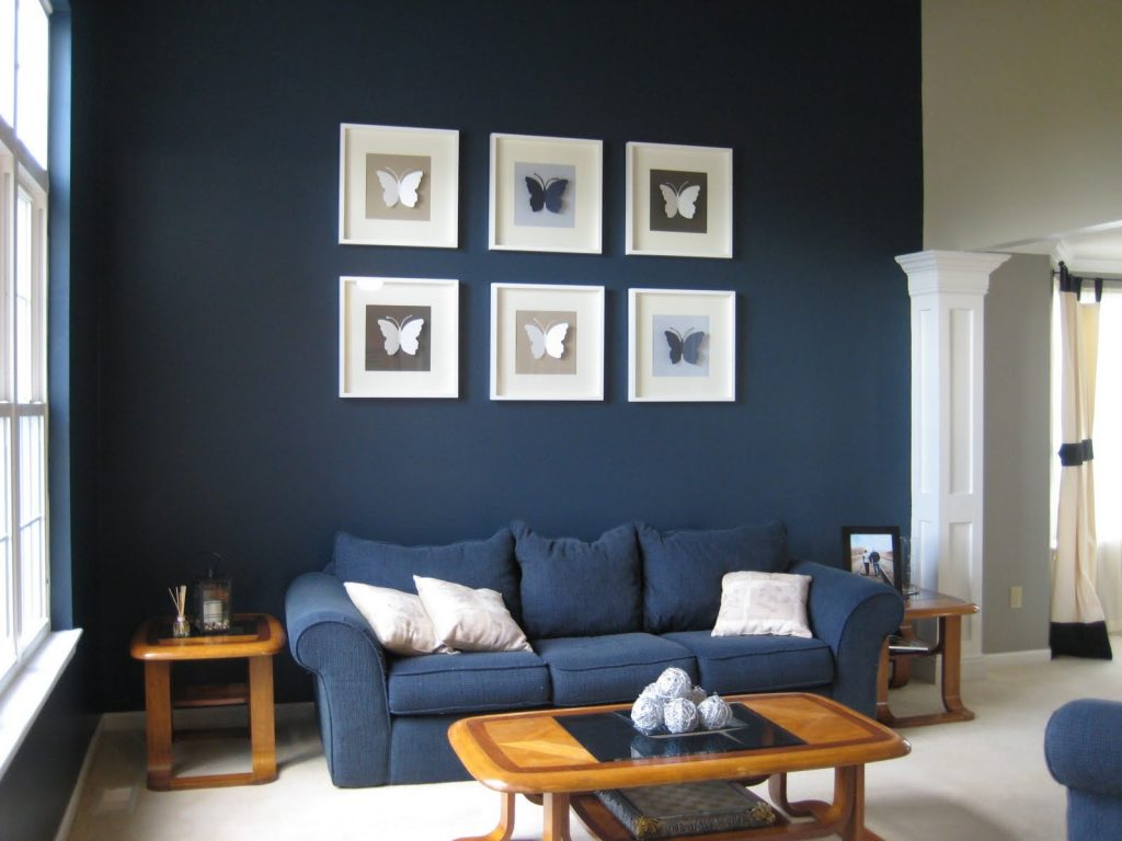 Amazing Of Living Room Ideas With Blue Walls Grey And Blu 594