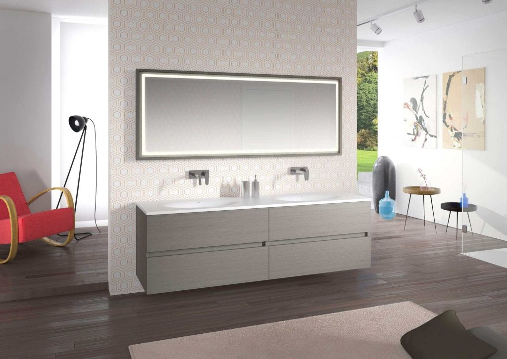 Audacious Complete European Bathroom Storage Cabinets Floating