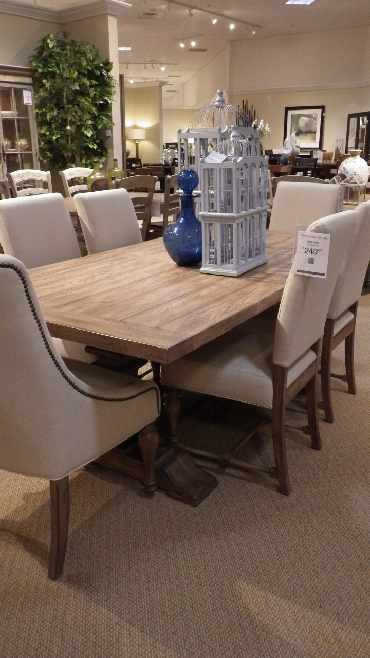 Avondale Dining Table Havertyshavertys Dining Room Sets Geekleetist