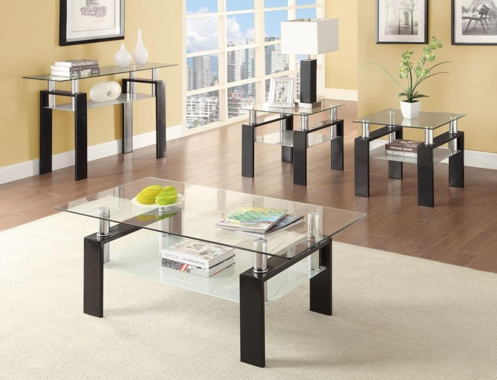 Awesome Coffee Table Wood Glass Marble Inside Living Room Sets 2286