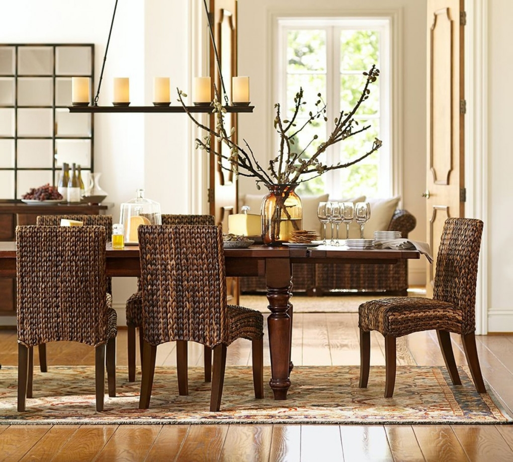 Awesome Dining Room Chairs Pottery Barn Pictures Home Design Ideas