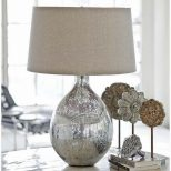 Awesome Silver Nightstand Lamps Cool Bedroom Furniture Ideas With