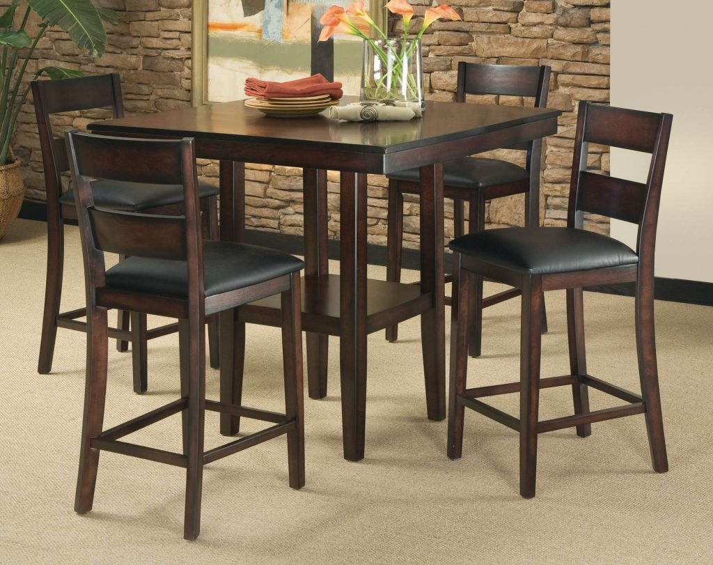 Bar Height Dining Table Set Lovable New Pub Style Dining Room Table