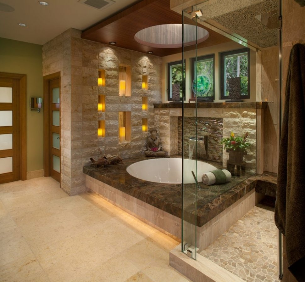Bathroom Earth Tone Bathroom Ideas Modern With Bath Counters Dark