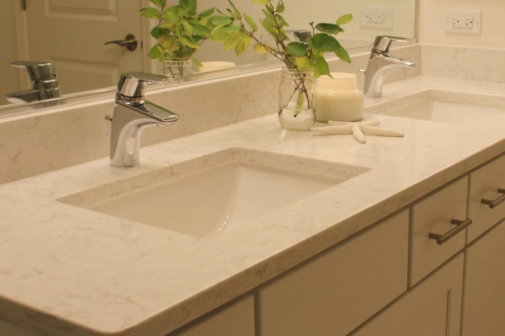 Bathroom Quartz Countertops Spirit Decoration
