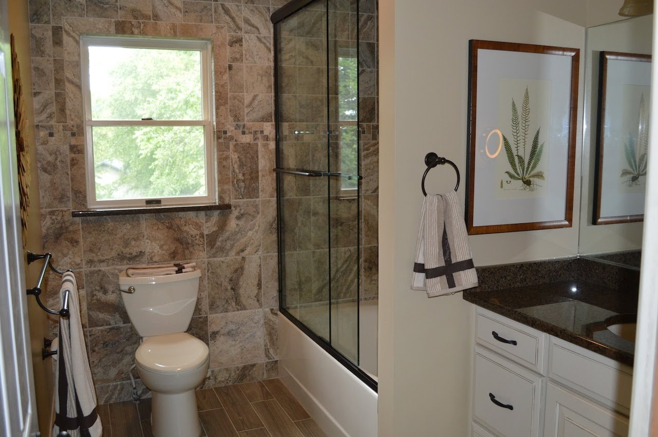 Bathroom Remodeling With Wall And Floor Tile Youtube