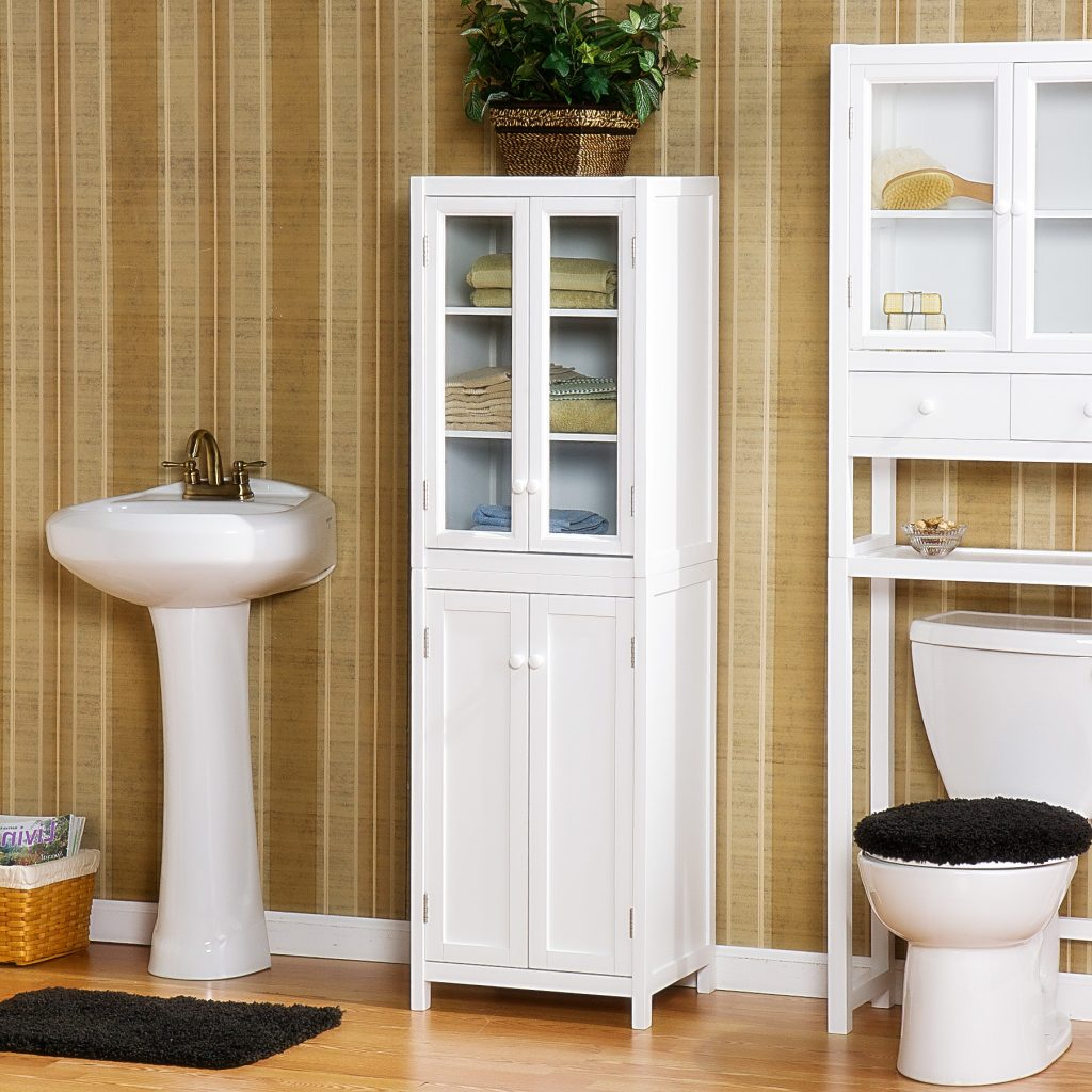 Bathroom Vanity And Linen Cabinet Sets The New Way Home Decor