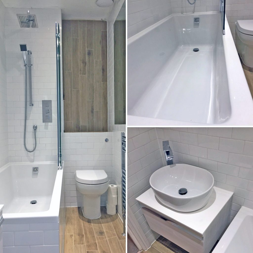 Bathrooms Kingston Home Services Tel 07427 669646