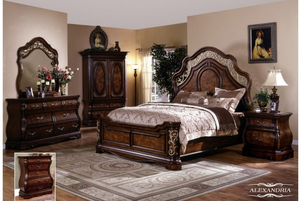 Bedroom Furniture Sets Queen Classic With Photos Of Bedroom