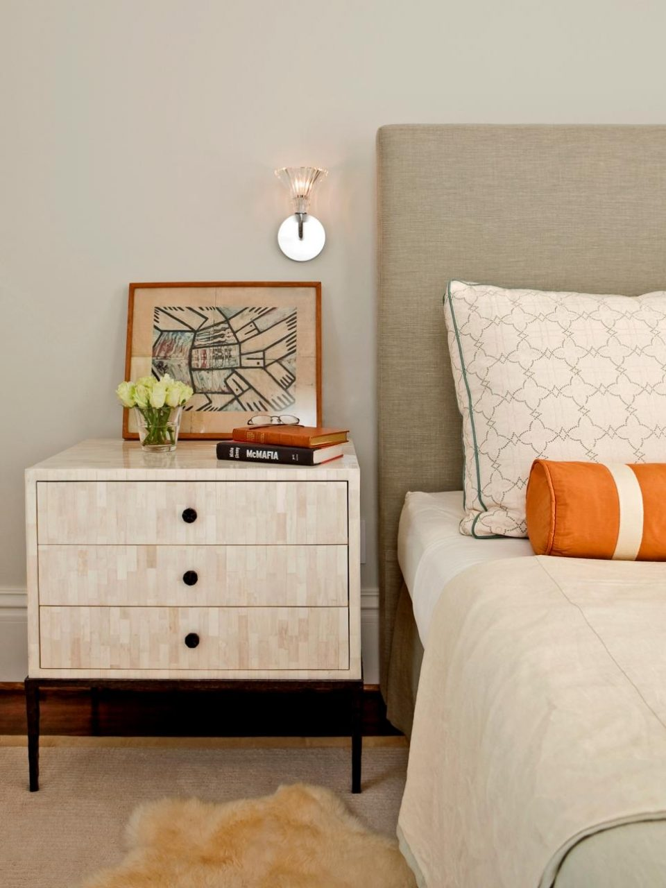 Bedroom Nightstand Ideas Home Design Gallery Ideas