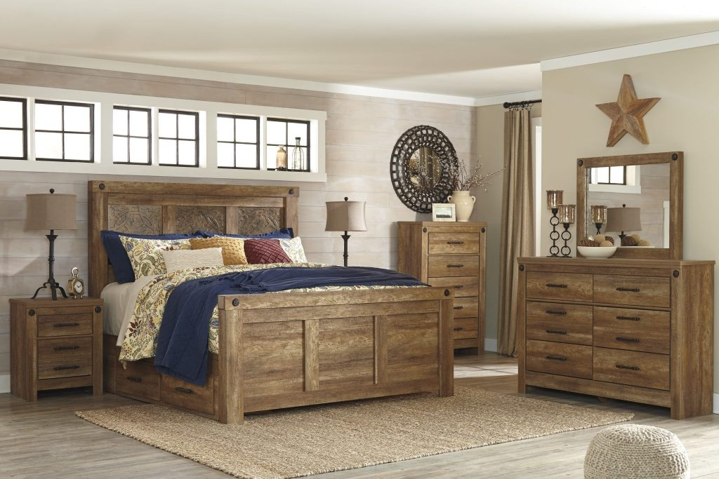 Bedroom Set Ladimier Ashley Furniture At Bellagio Furniture Store