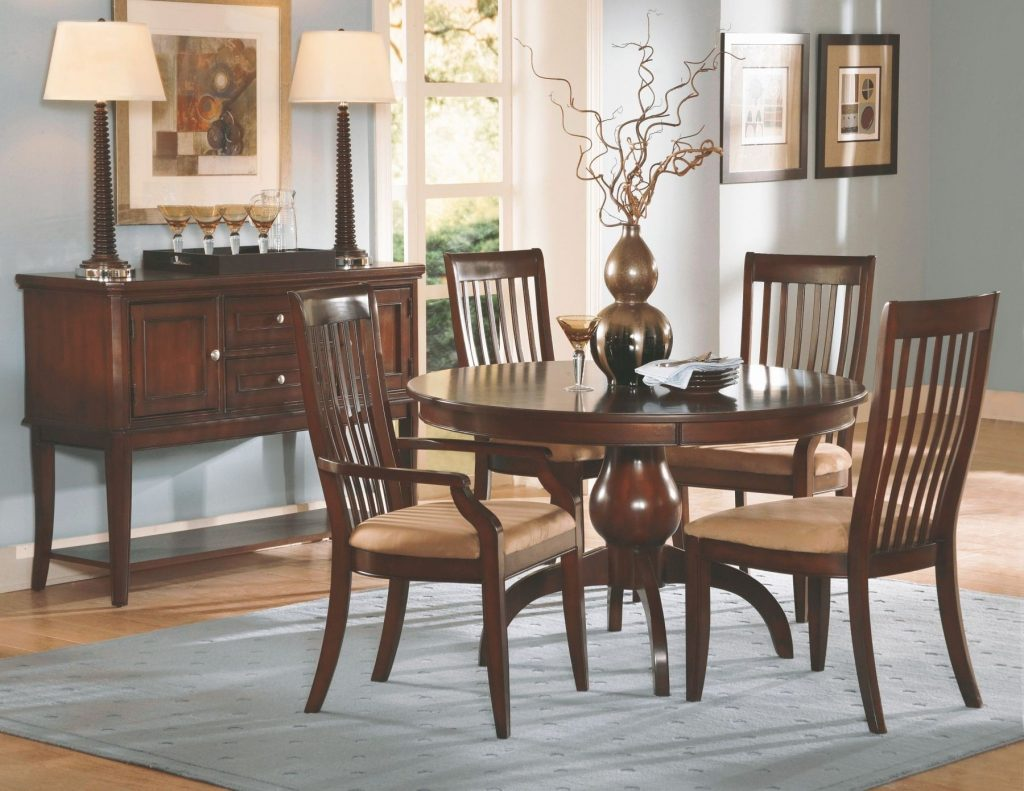 Bench A Natural Cherry Wood Dining Room Furniture Sets In A From