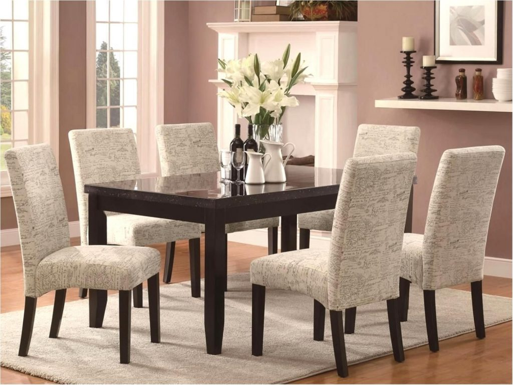 Best Extraordinary Modern Cloth Dining Room Chairs Upholstered