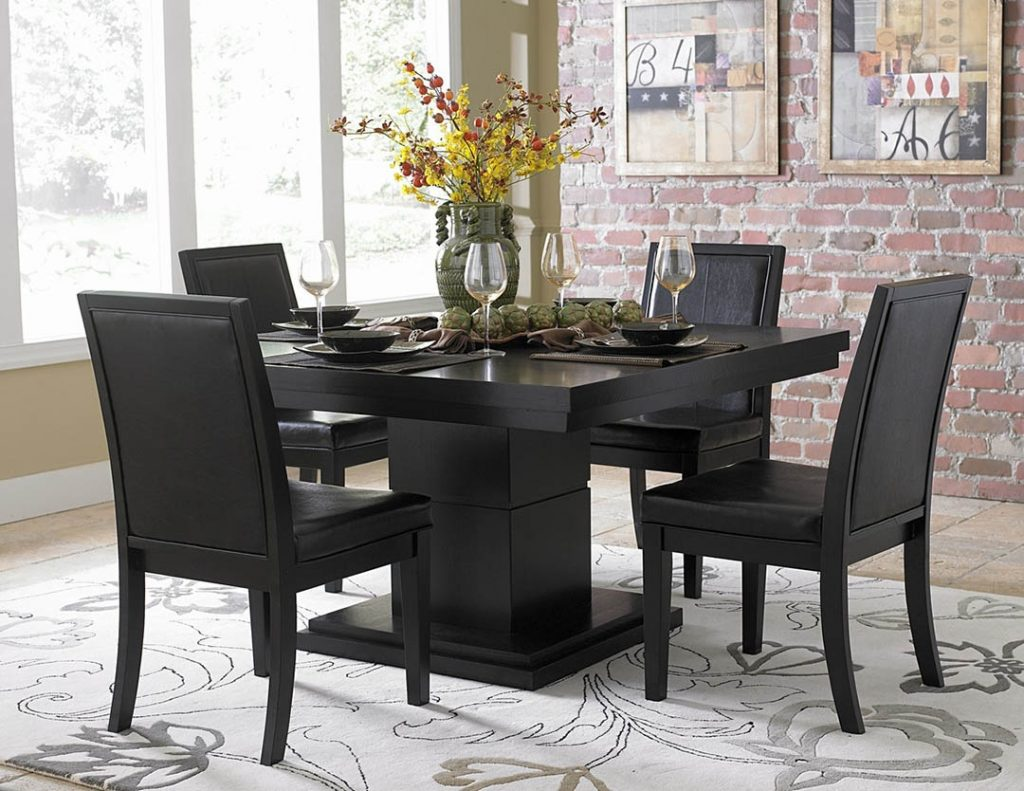 Black Leather Dining Chairs Review Home Design Ideas