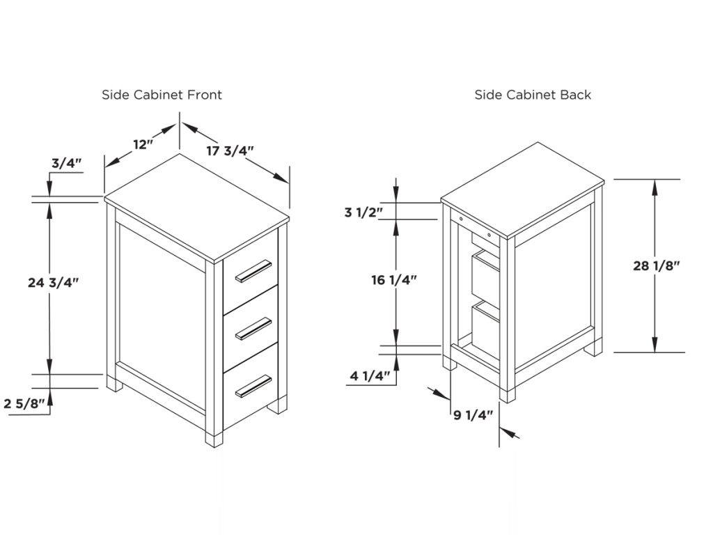 Book Of Bathroom Furniture Standard Dimensions In Us Michael