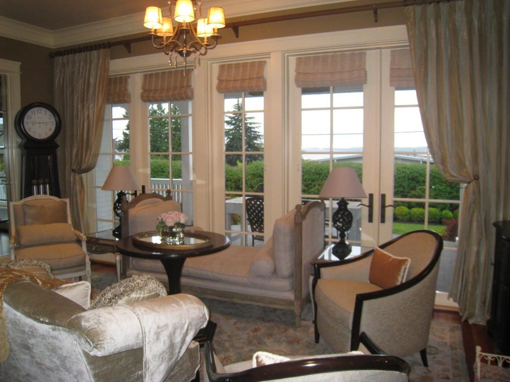 Brilliant Dining Room Window Treatments Ideas Intended For Desire