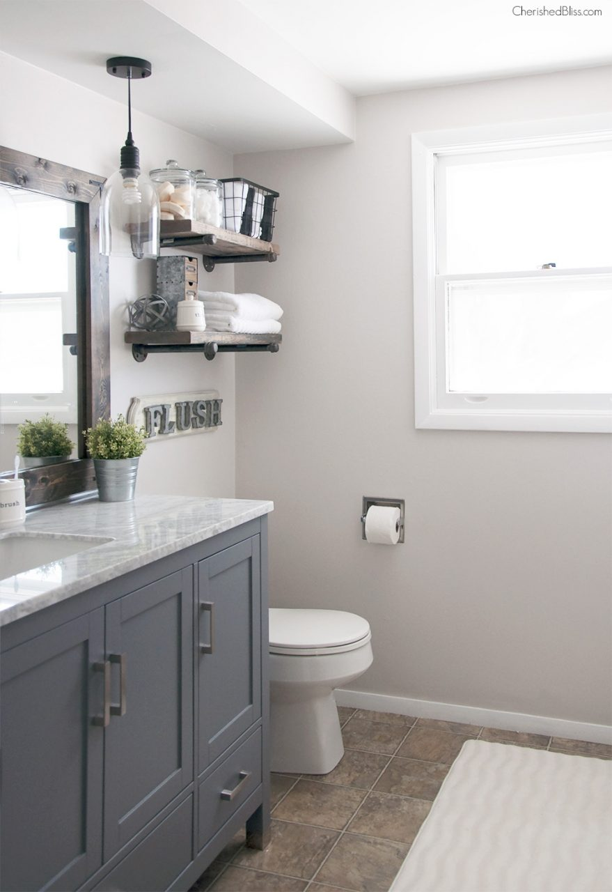 Budget Bathroom Updates 5 Tips To Affordable Bathroom Makeovers