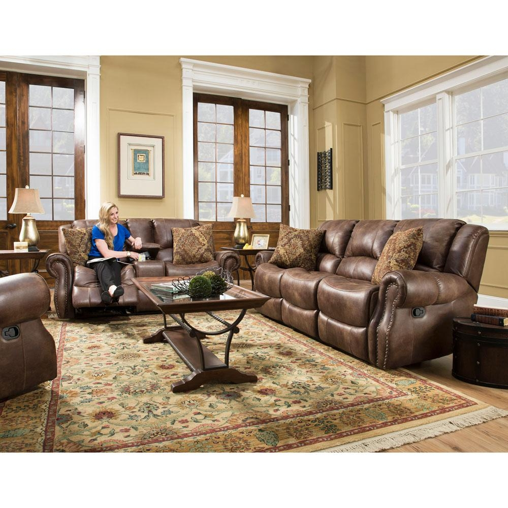 Cambridge Stratton 3 Piece Chocolate Sofa Loveseat And Recliner