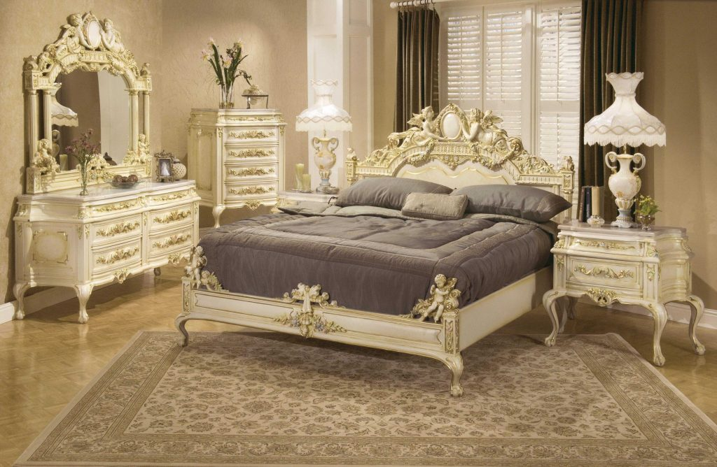 Charming Antique Victorian Bedroom Set Ideas Also Fireplace Vanity
