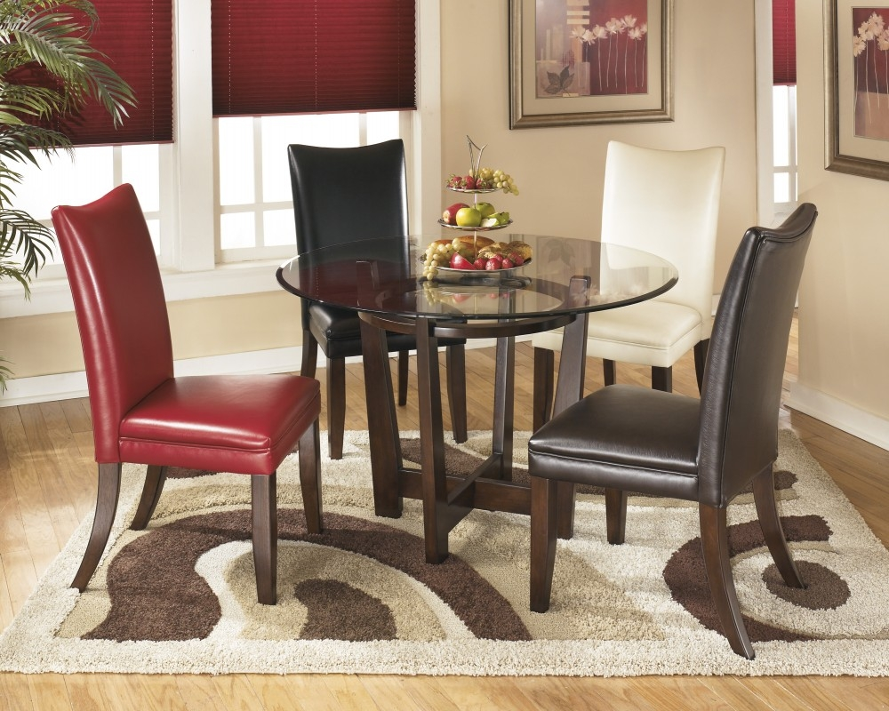 Charrell Multi Round Dining Room Table D357 15 Tables