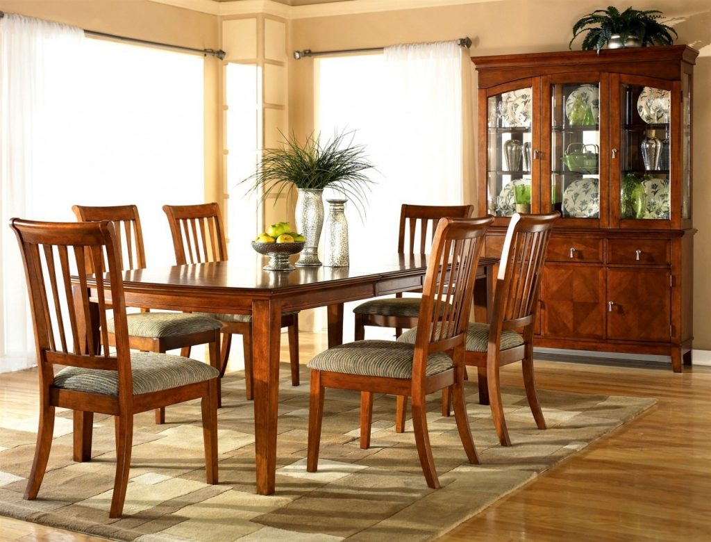 Cherry Wood Dining Room Furniture Modest With Image Of Cherry Wood