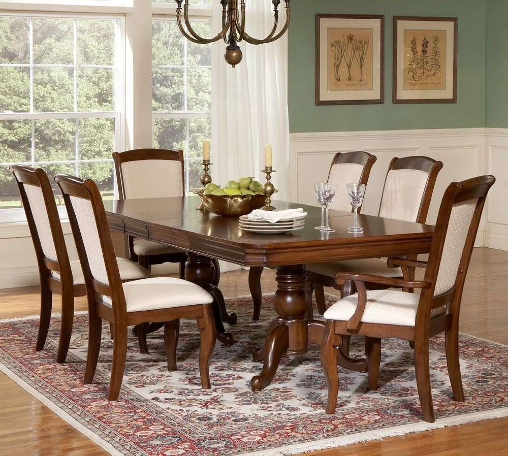 Cherry Wood Dining Room Furniture Trend With Images Of White High