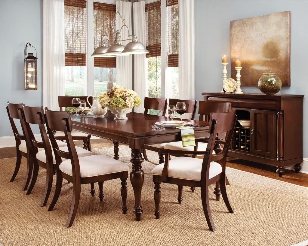 Cherry Wood Dining Tables And Chairs Cherry Wood Dining Room Set