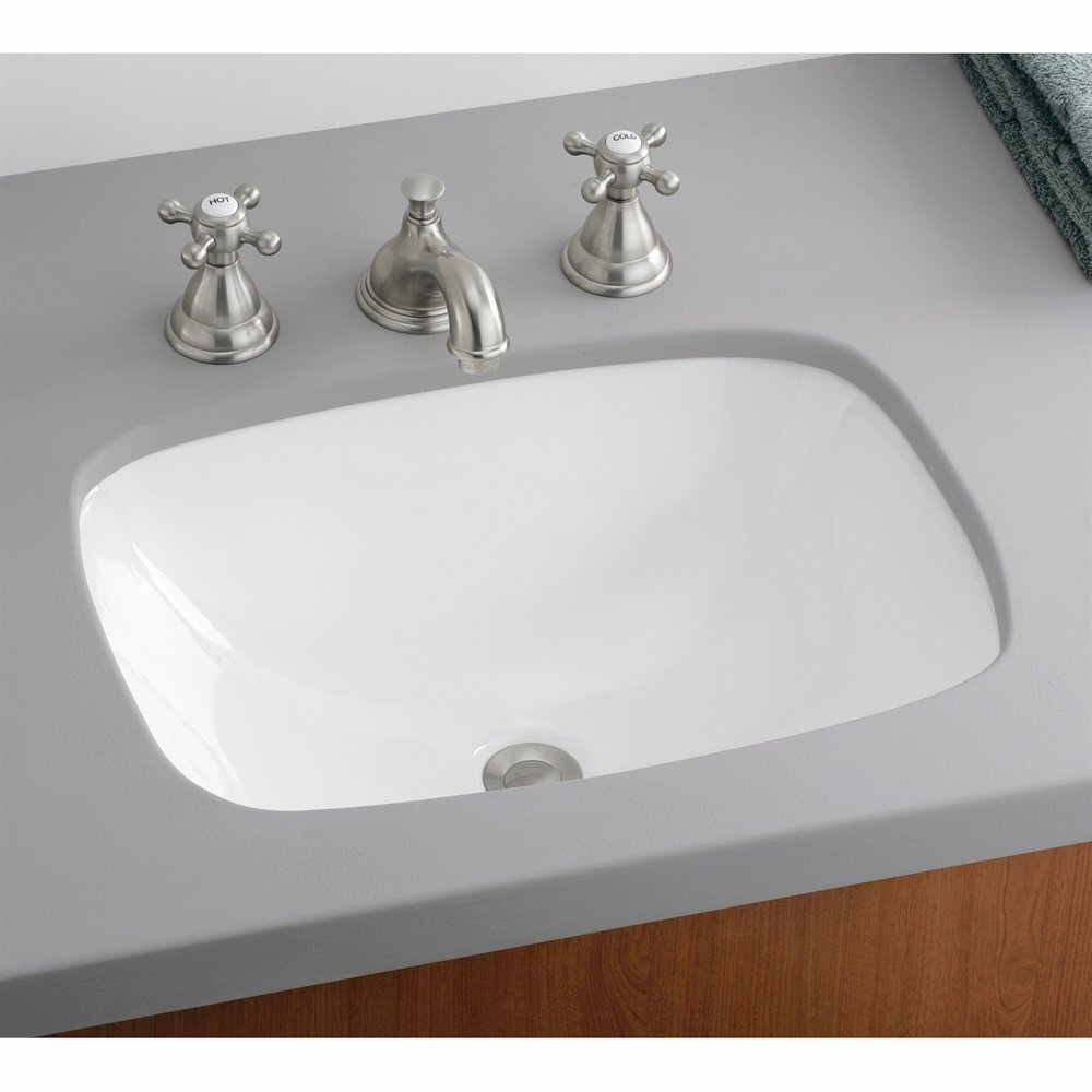 Cheviot 1116 Wh Ibiza Undermount Basin Under Mount Bathroom Sink