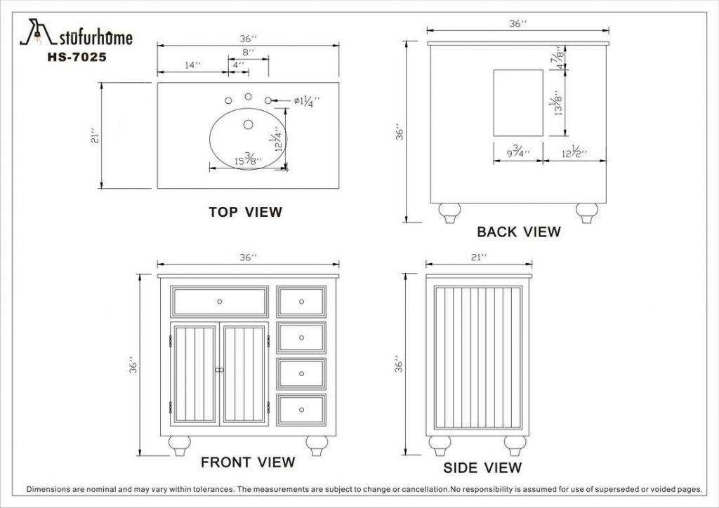Choosing The Right Bathroom Vanity Dimensions Can Standard Size Of
