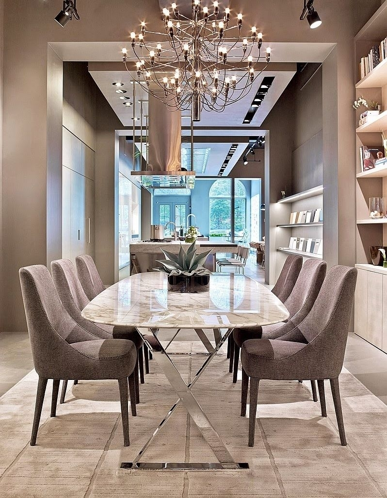 Contemporary Dining Room Design Ideas Aconseils