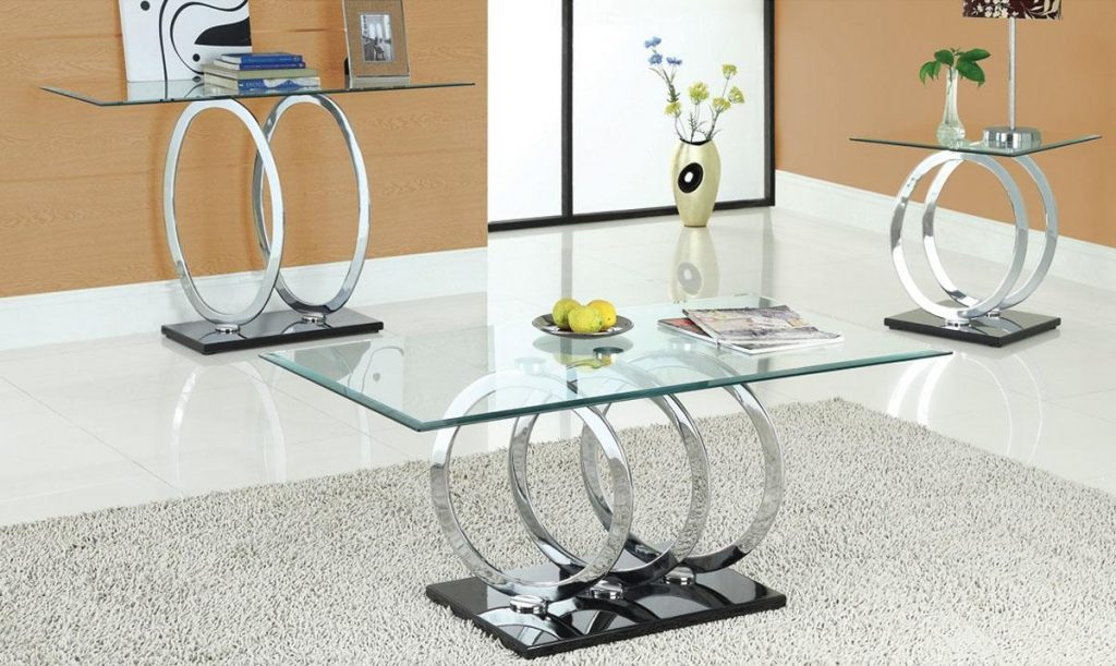 Contemporary Glass Coffee Tables Sets Thelightlaughed