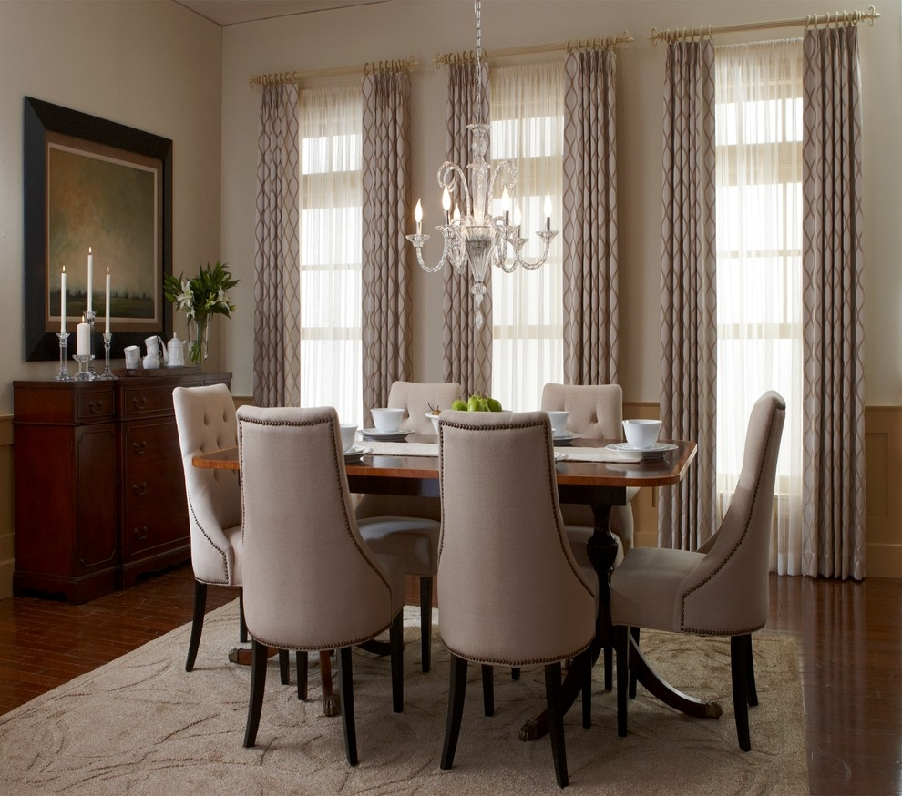 Curtain Design Concepts Dining Room Drapes Casual Dining Room