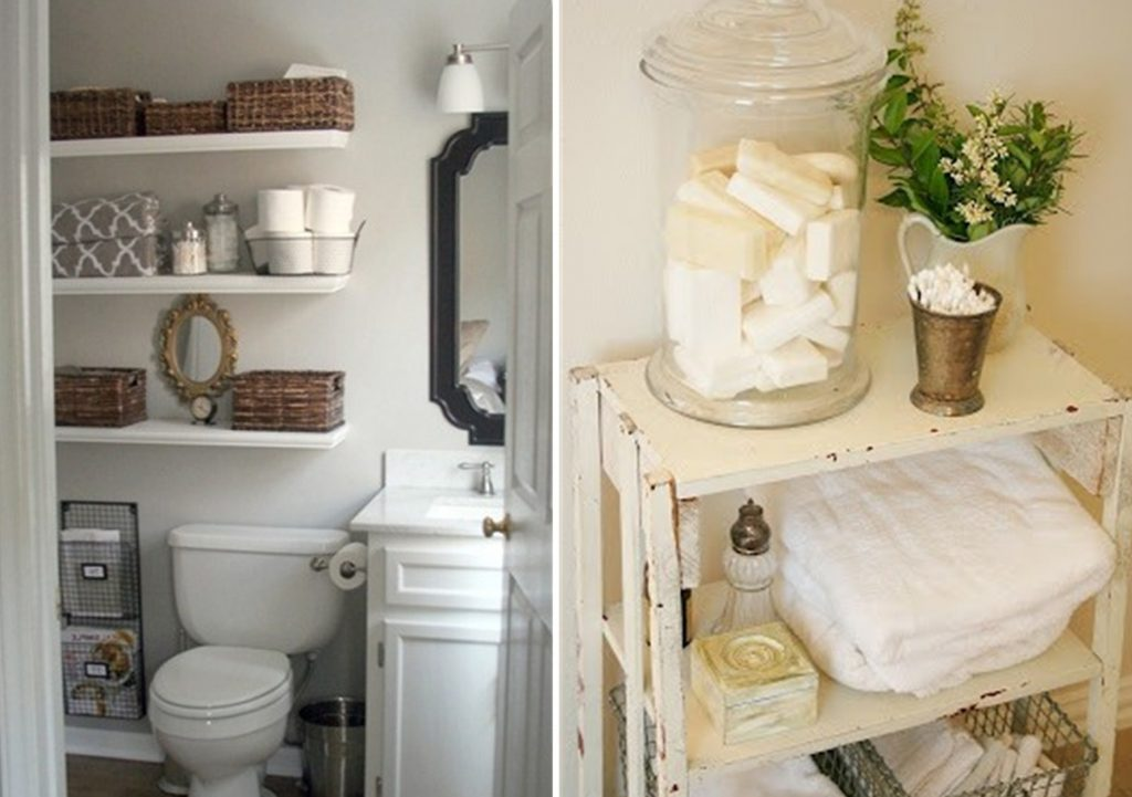 Decorations Fascinating Small Bathroom Towel Storage Ideas For