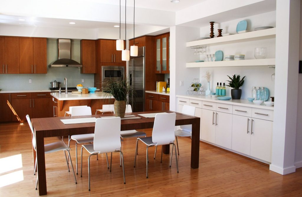 Detailed Small Dining Room Colors Kitchen Combo Design Ideas For