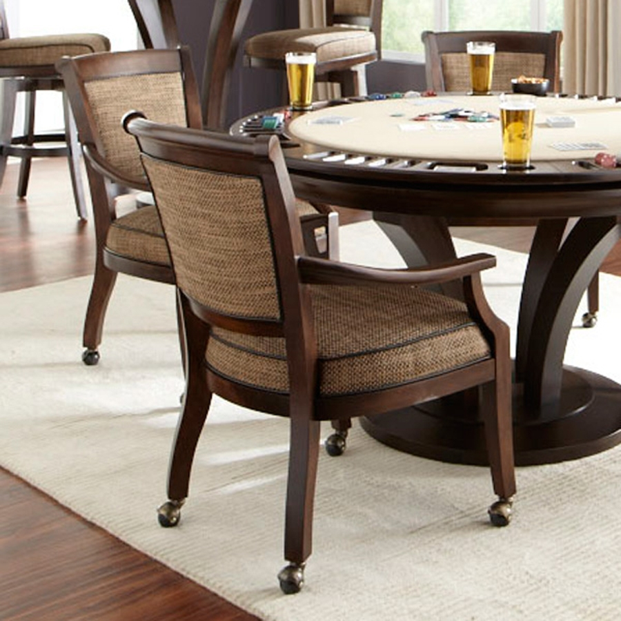 Dining Room Chairs With Casters And Arms Indiepretty Dining Chair