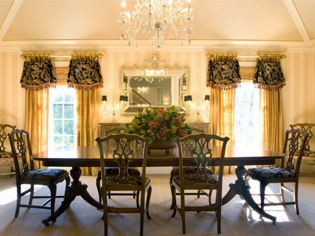 Dining Room Curtain Color Ideas The New Way Home Decor Dining