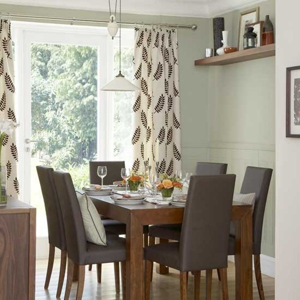Dining Room Curtain Ideas Color Zachary Horne Homes Dining Room