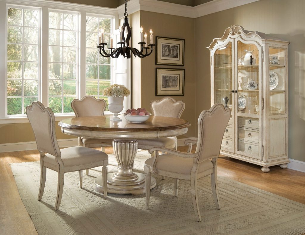 Dining Room Inspiring Elegant Round Dining Room Sets How To From