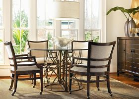 Dining Room Chairs Casters