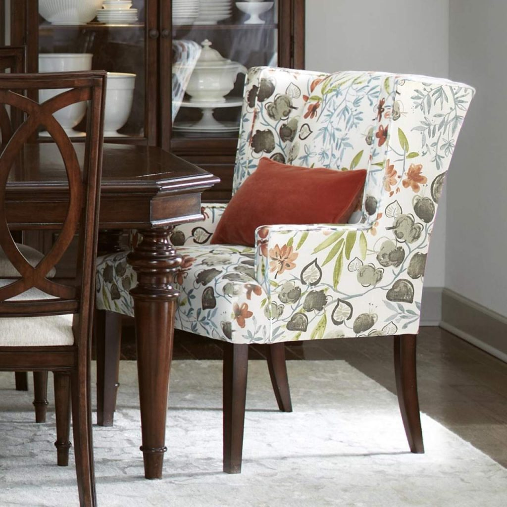 Dining Room Upholstered Chairs Living Furniture Inspired Traditional