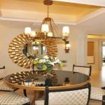 Dining Room Mirror Decorating Ideas
