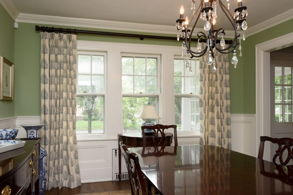 Dining Room Window Treatments Dream Home