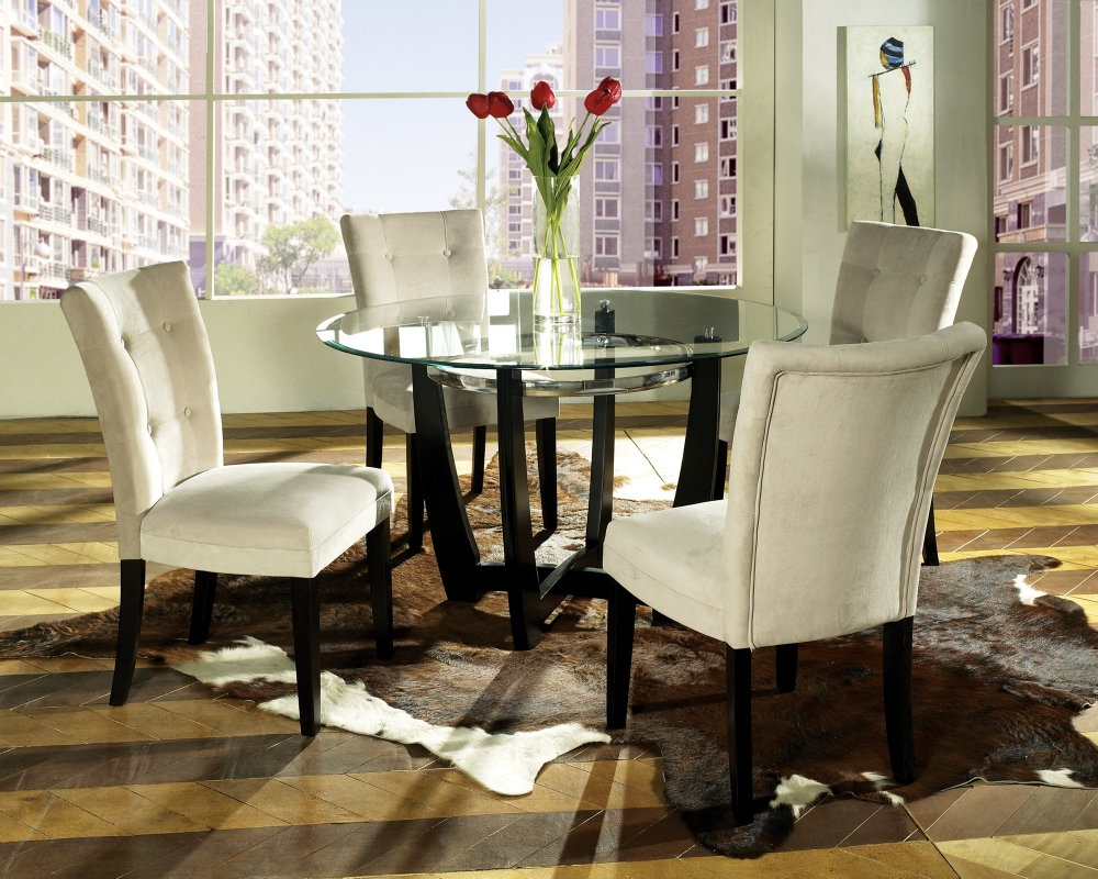Dining Table Cheap Round Room Sets And Regarding For 4 Decorations