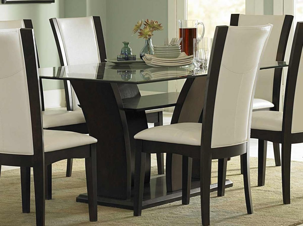 Dining Tables Inspiring Tall Glass Dining Table Tall Glass Dining