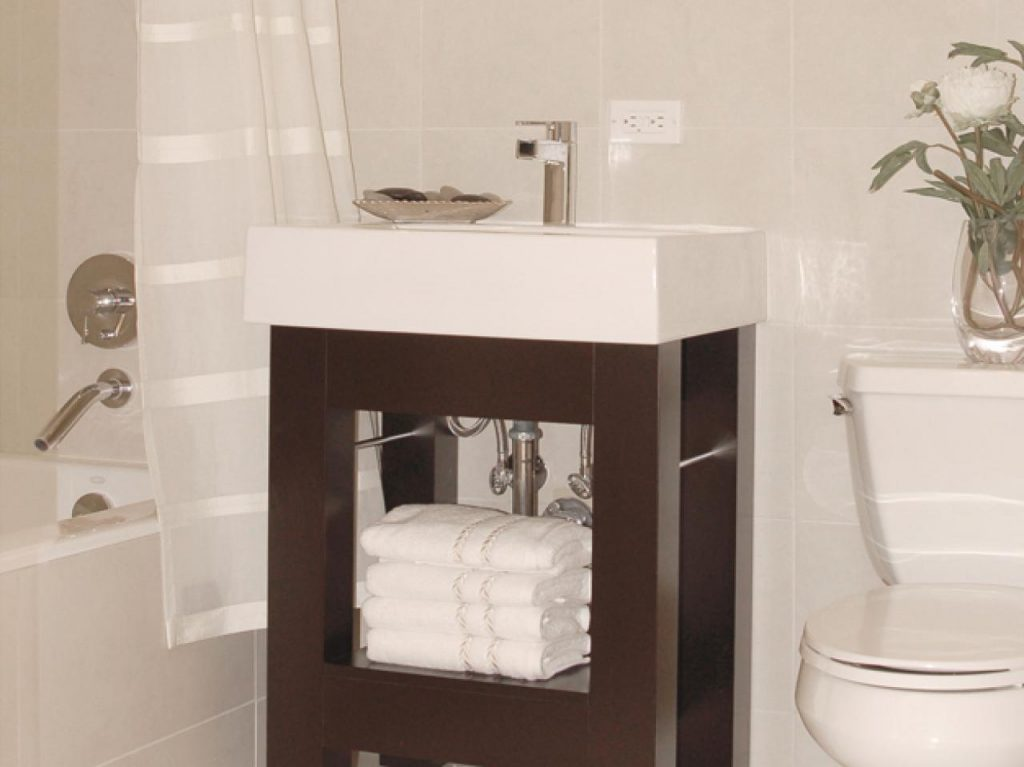 Diverting Farmhouse Sink Together With Image Famous Bathroom Vanity